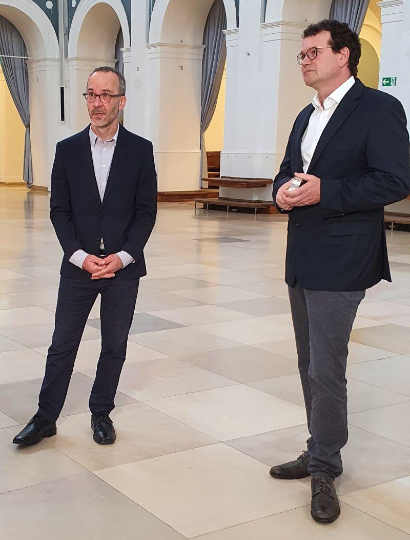 Henning Sußebach und Stefan Willeke