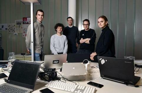 Das Team des Tagesspiegel Innovation Lab