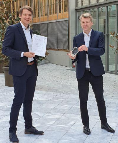 Daniel Pontzen und Michael Haselrieder